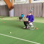 Rollstuhltennis im TC GW Silschede